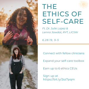 The Ethics of Self Care