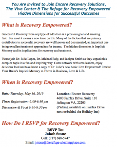 Recovery Empowered! Hidden Dimensions for Successful Outcomes