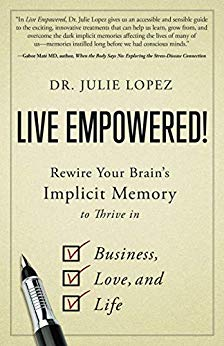 Live Empowered! Book Cover by Julie Lopez