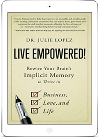 Live Empowerd! book by Dr. Julie Lopez