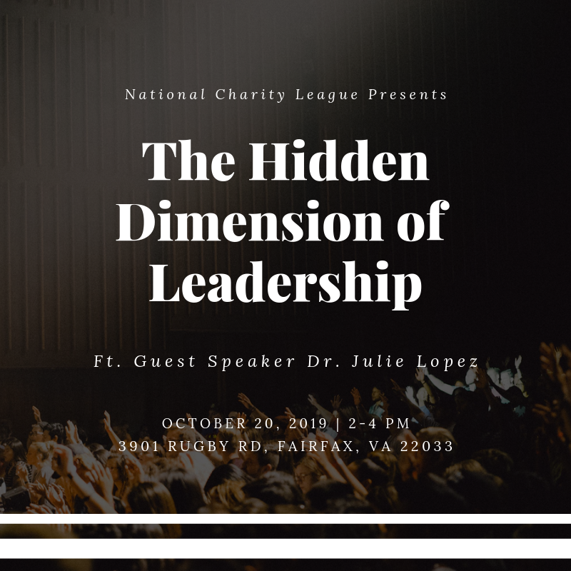The Hidden Dimension of Leadership flyer
